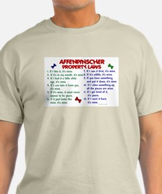 Affenpinscher Property Laws T-Shirt