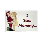 I Saw Mommy Rectangle Magnet (10 pack)