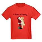 I Saw Mommy Kids Dark T-Shirt