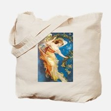 Angel with Bells Tote Bag