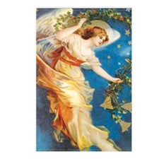 Angel with Bells Postcards (Package of 8)