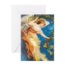Angel with Bells Greeting Card