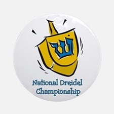National Dreidel Championship Ornament (Round)
