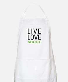 Live Love Shoot BBQ Apron