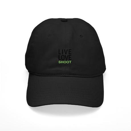 Live Love Shoot Black Cap
