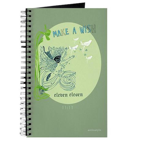 """Make a Wish at 11:11"" Inspiration Journal"