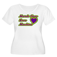 Mardi Gras Love Machine T-Shirt