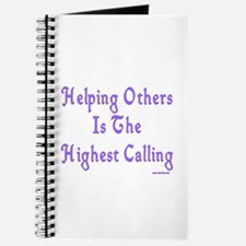 Helping Others Journal
