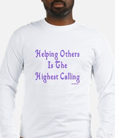 Helping Others Long Sleeve T-Shirt