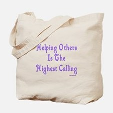 Helping Others Tote Bag