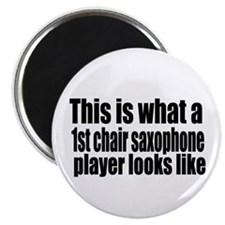 """1st Chair Player 2.25"""" Magnet (100 pack)"""