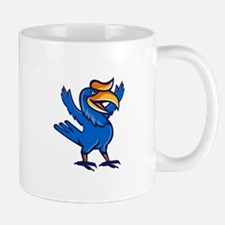 Hornbill Open Arms Full Body Cartoon Mugs