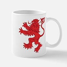Lion Red Mug
