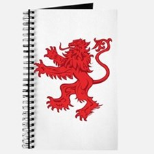 Lion Red Journal