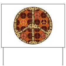 World Peace On Earth Yard Sign