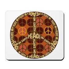 World Peace On Earth Mousepad