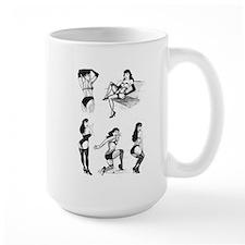 VintageSpot.com Bettie Page Mug