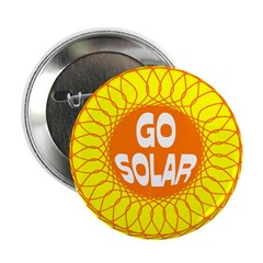 Go Solar (Solar Energy Button 10 pack)