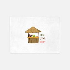 The Tiki Bar 5'x7'Area Rug