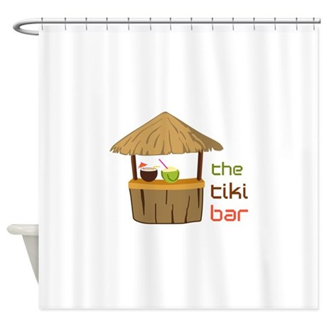 The Tiki Bar Shower Curtain by Greatnotions40