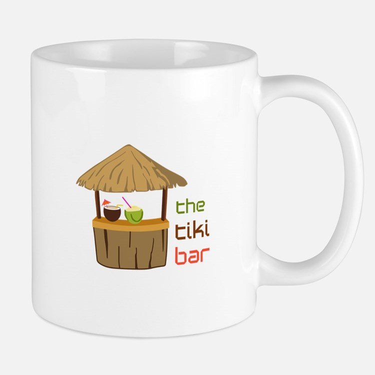 The Tiki Bar Mugs