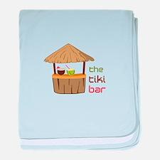 The Tiki Bar baby blanket