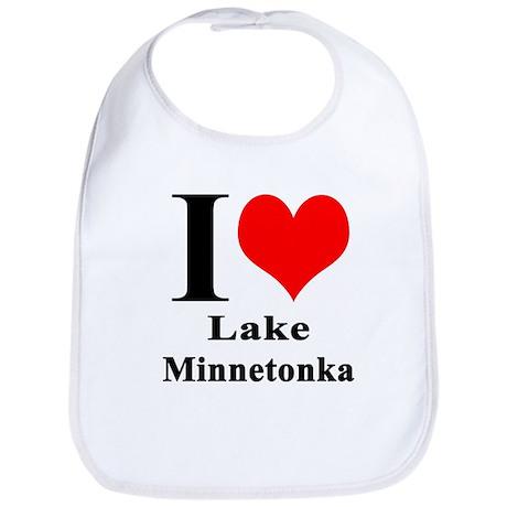 I Heart Lake Minnetonka Bib
