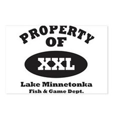 Property of XXL Postcards (Package of 8)