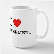 I Love EMPOWERMENT Mugs
