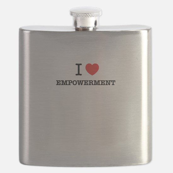 I Love EMPOWERMENT Flask