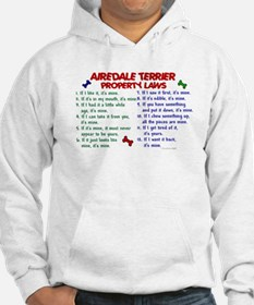 Airedale Terrier Property Laws 2 Hoodie