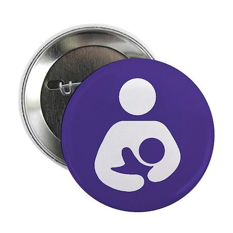 "Breastfeeding Symbol 2.25"" Button"