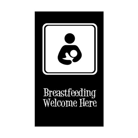 Breastfeeding Welcome Here Sticker
