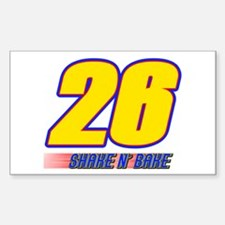 Shake N' Bake Rectangle Bumper Stickers