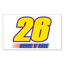 Shake N' Bake Rectangle Decal