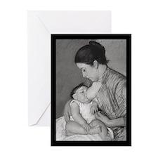 Twenty Mary Cassatt's Maternité Greeting Cards