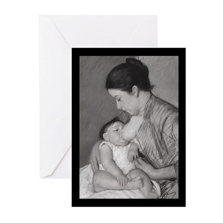 Ten Mary Cassatt's Maternité Greeting Cards