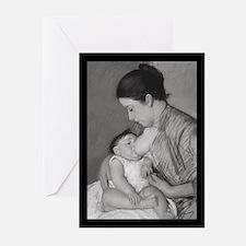 Ten Mary Cassatt's Maternité Greeting Cards