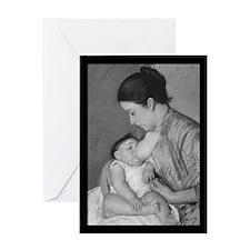 Mary Cassatt's Maternité Greeting Card