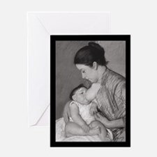 Mary Cassatt's Maternité Greeting Card