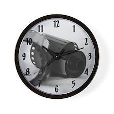 """Exposed"" Wall Clock"