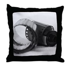 """""""Exposed"""" Throw Pillow"""