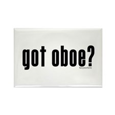 got oboe? Rectangle Magnet (10 pack)
