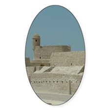 Bahrain Fort Oval Decal