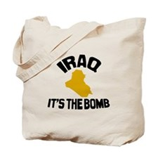 Iraq Is The Bomb Tote Bag