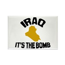 Iraq Is The Bomb Rectangle Magnet