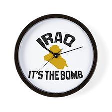 Iraq Is The Bomb Wall Clock