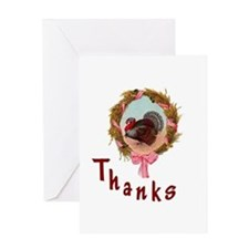Thanks Turkey Greeting Card