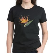 bird of paradise wm's dark t-shirt