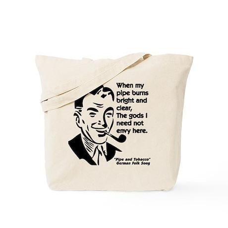 Pipe Smoker II Tote Bag